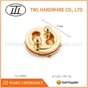 New Design Twist Lock Turn Lock Purse Lock Press Lock for Leather Bag pictures & photos