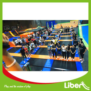 Trampline Bed for Sale China Indoor Trampoline Park Builder pictures & photos