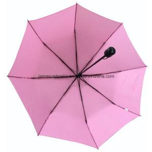 21inch Manual Open Strong Frame 3 Fold Umbrella (SU025) pictures & photos