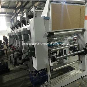 GWASY-C Medium-Speed 8 Color Gravure Printing Machine in 110m/Min pictures & photos
