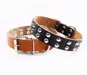 Dog Collar, Adjustable Leather Pet Dog Collar pictures & photos