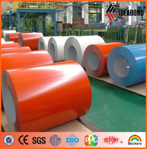 Door Surface Decoration Material Color Coated Roll (AE-31A) pictures & photos