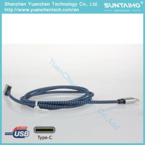 Nylon Braided Type C Cable pictures & photos