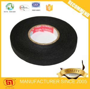 Automotive Wire Harness Black Fleece Tape for Auto Usages 9mm*15m pictures & photos