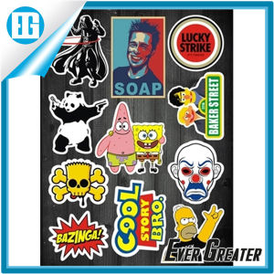 Customized Vinyl Sticker Waterproof Strong adhesive pictures & photos