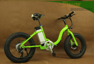 New Design 20 Inch Snow Electric Fat Bike pictures & photos