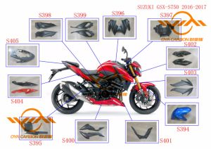 Carbon Fiber Parts for Latest Motorcycle Models pictures & photos
