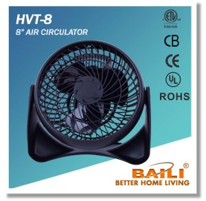 "Hot 8"" Air Circulator Fan with Copper Motor pictures & photos"