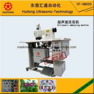 Automatic Ultrasonic Lace Embossing Machine pictures & photos