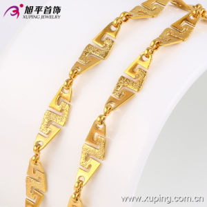 42782 Fashion Hot Sales Tobago Design Jewelry Necklace in 24k Gold Color pictures & photos