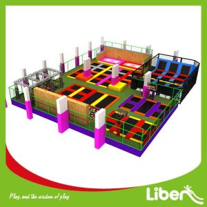 TUV Certificate China Square Trampoline Park Factory pictures & photos