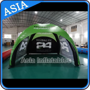 Outdoor Cheap PVC Fabric Inflatable Camping Tent pictures & photos