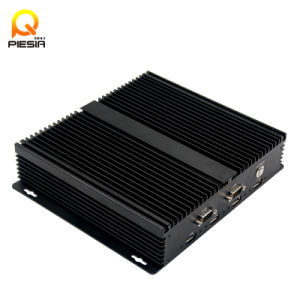 Fanless X86 Embedded Portable Linux Mini Box PC 12V pictures & photos