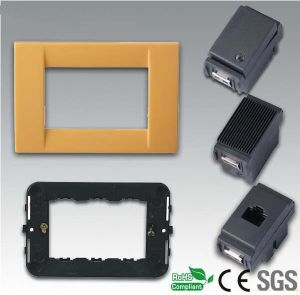 Different Types Italian Wall Switch with Socket pictures & photos