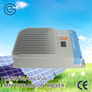 New Arrival 45A MPPT Solar Power System Charge Controller pictures & photos
