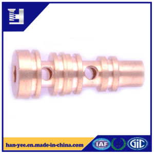 High Precision Hollow Brass Connector pictures & photos