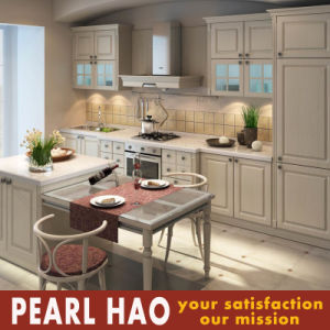 Modern MDF Solid Wood Kitchen Cupboard Furniture pictures & photos