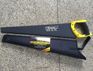 """26"""" High Quality Woodworking Tools 65mn Steel Hand Saw with Nylon Cover pictures & photos"""