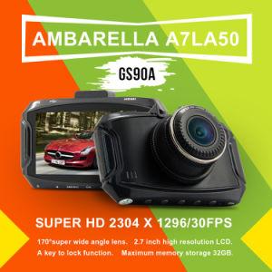 """GS90A Car DVR GPS Module Ambarella A7la50 2.7"""" 1296p HD 5MP 170 Degree Dash Cam Camera Recorder Vehicle Camcorder"""