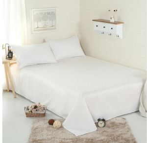 Solid Pattern Simple Style Customized Size 4PCS Bedding Set pictures & photos