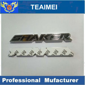 Differenct Color Letter Badges ABS Plastic Car Badge