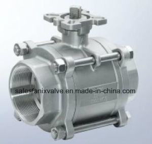 1000wog 3PC Type Ball Valve with Internal Thread. 1 pictures & photos