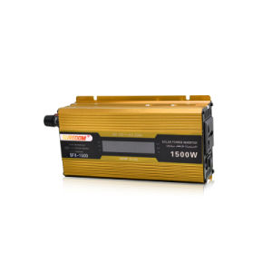 Inverter 12V 220V 1500W 50Hz Car Power Inverter with Digital Display DC to AC Inverter pictures & photos