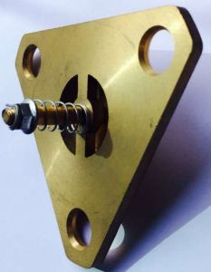 Fuel Dispenser Brass One-Way Valve pictures & photos