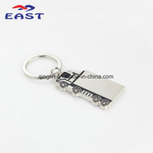 Special Design Container Truck Shape Metal Keychain pictures & photos