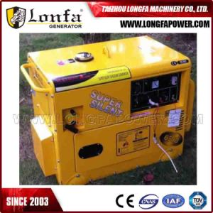 5kVA 6kVA 7kVA 8kVA Silent Soundproof Electric Gasoline Generator Set pictures & photos
