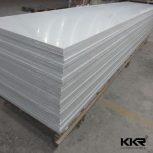 Glacier White Acrylic Solid Surface Sheets pictures & photos