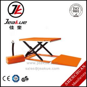 Super Low Electric Scissor Lift Table for Sale pictures & photos