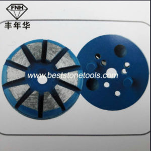 Diamond Prep/Master Metal Grinding Block for Grinding Concrete