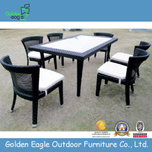 Popular Garden Rattan Dining Set, Outdoor Fashion Furniture (FP0224)