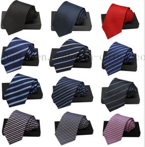 OEM Logo Bussiness Necktie Silk Neck Tie for Promotion pictures & photos