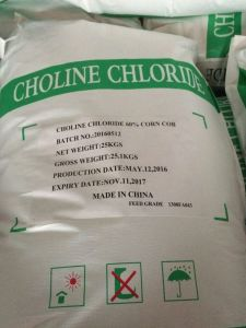 Animal Feed Additive, Choline Chloride 60% Corn COB, 67-48-1 pictures & photos