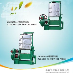 Cofcoet Nanpi Zx/Zy Screw Oil Press pictures & photos