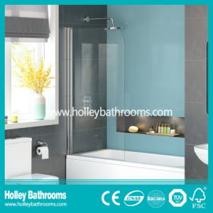 Poplular Walk-in Shower Screen with Tempered Laminated Glass (SE934C)