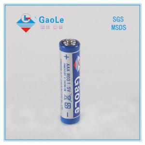 Carbon Zinc R03p AAA Battery (1PCS/shrink) pictures & photos