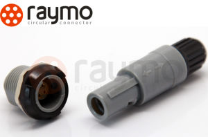 Plastic Medical Connector 8 Pin Plug pictures & photos