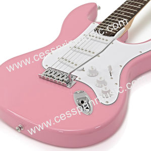Hot Sell /Electric Guitar/ Lp Guitar /Guitar Supplier/ Manufacturer/Cessprin Music (ST601) /Pink pictures & photos