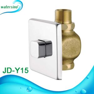 High Quality Push Button Flush Valve with Square Plate pictures & photos