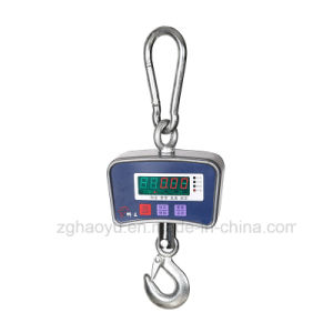 Electronic Digital Hanging Crane Scale 500kg Weight Scale pictures & photos