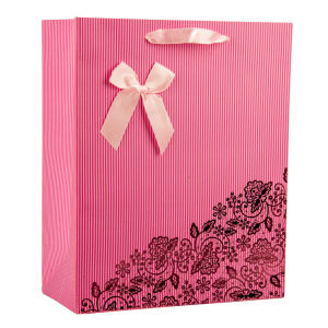 Gloss Lamination Art Paper Printing Shopping Gift Bag pictures & photos