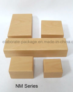Wholesale Natural Solid Wooden Jewellery Set Packaging Box pictures & photos