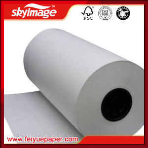 50GSM Jumbo Roll Fast Dry Sublimation Transfer Paper for Large Format Inkjet Printer pictures & photos