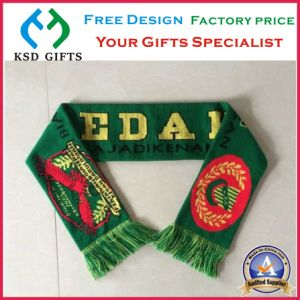 Football Club Acrylic Knitted Soccer Scarf/Scraves pictures & photos
