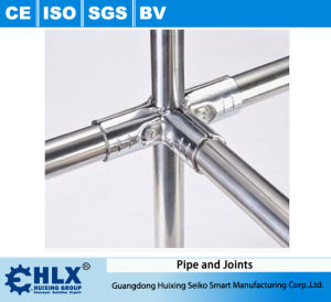 Factory Supply Stainless Steel Pipe for Constructing Racks Hlx-PP009 pictures & photos