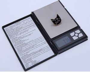 2000g*0.1g/500g*0.01g Hot Sell Notebook Series Jewelry Scale pictures & photos