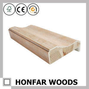 Building Material Veneer Wood Door Frame Moudling pictures & photos